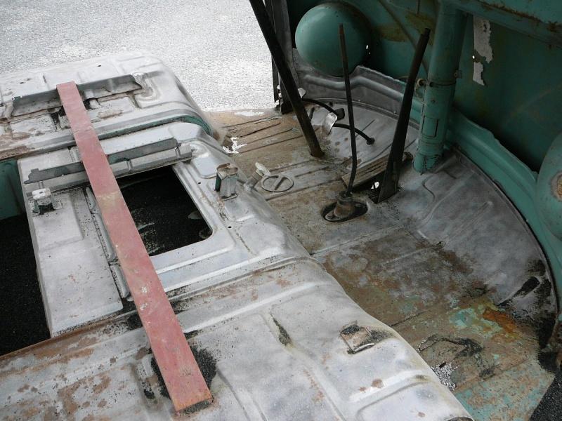 Combi split pick up simple cabine 64 a la tolerie for Interieur combi split