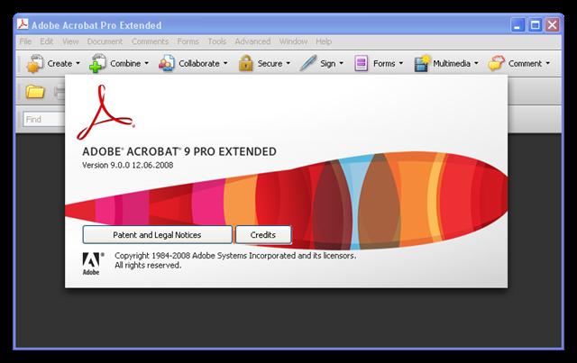 Adobe Acrobat 9 Pro Extended, Version , crash - Adobe Support Community