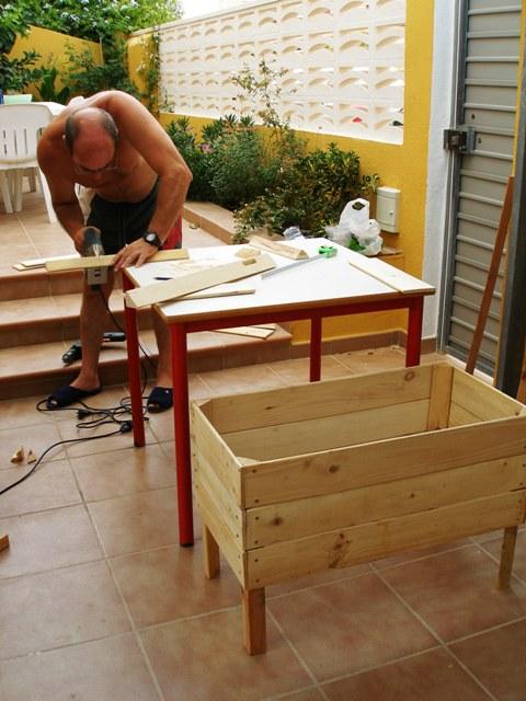 Jardineras De Madera Caseras Una Jardinera Con Maderas Una Jardinera Con  Maderas Source Abuse Report With Jardineras Caseras.