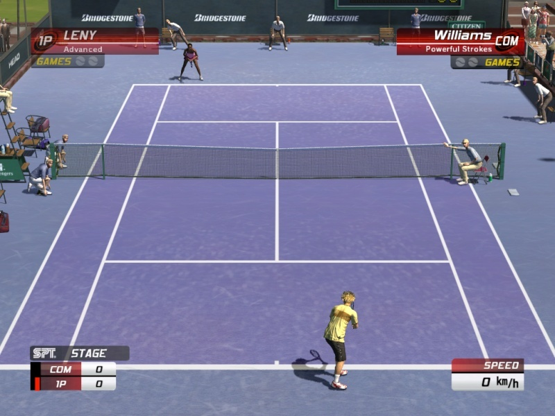 ����� ���� Virtua Tennis